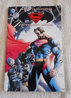DC COMICS BATMAN VS SUPERMAN The Greatest Battles COMIC