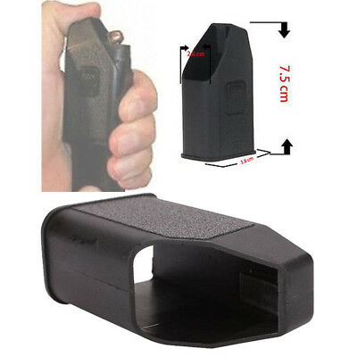 Black Sport Glock Magazine Ammo Speed Loader for Mags Clips Quick Filling Sleeve