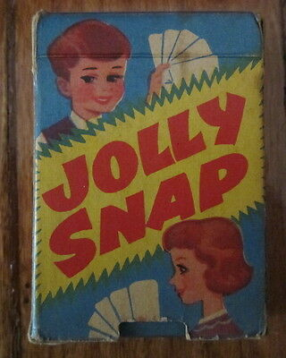 Vintage Jolly Snap Card Game Made In England By Tower Press