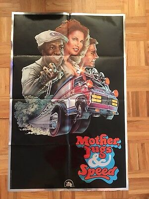 Mother Jugs And Speed 1976 Original 1 Sheet Poster (good Condition)