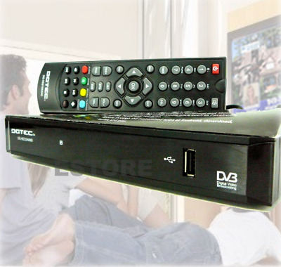 Brand New MPEG 4 HD Digital set top box- USB port for recording with free AV kit