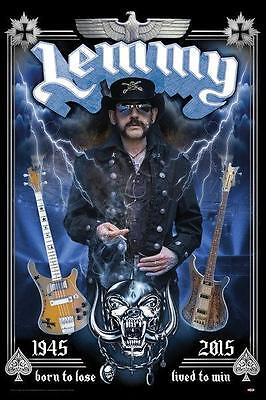 Lemmy Motorhead Official Poster 61x91.5cm LP2051 New & Sealed