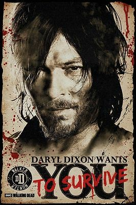 Walking Dead Daryl Dixon Official Poster 61x91.5cm FP3851 New & Sealed