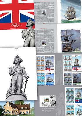 """Gibraltar - 2008 """"250th Anniversary of the Birth of Nelson """" Special Folder"""