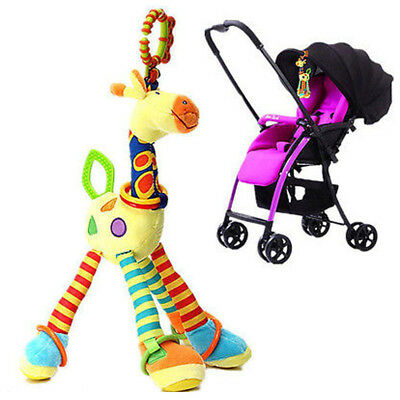 Baby Toys Fun Musical Stroller Toy soft toddler newborn Rattles Teether Infant