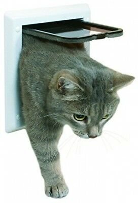 Trixie 38601 2-Way Cat Flap White