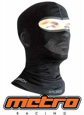 Brubeck thermoactive seamless balaclava with silver ions motorcycle/winter sport