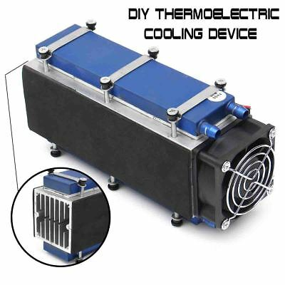12V 576W 8-Chip TEC1-12706  Thermoelectric Cooler Radiator Air Cooling Device