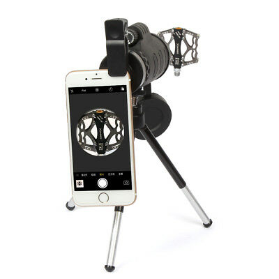 Universal 40X60 Zoom Optical Lens Telescope+ Tripod + Clip For Mobile Phone