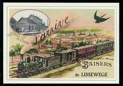 LISSEWEGE - train souvenir creation moderne - serie limitee numerotee