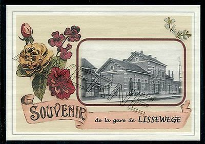LISSEWEGE - gare souvenir creation moderne - serie limitee numerotee
