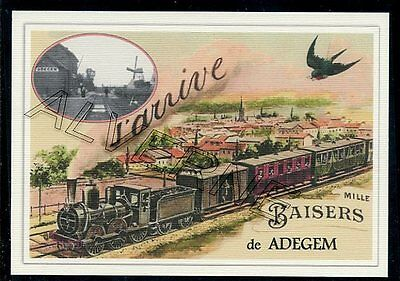 ADEGEM  - train souvenir creation moderne - serie limitee numerotee