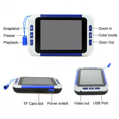 3.5'' LCD Portable Reading Digital Viewing Video Magnifier Eyesight-Aiding 2-32x