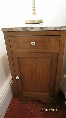 french marble top cabinet