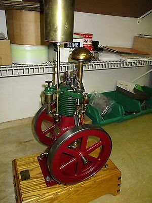 Perkins Air Cooled Model Engine Made by Debolt Machine Inc. Serial No, 2062