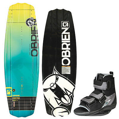 O`brien Contra 133/137/141 cm incl. Plan b-bindung, 35,5 -48, 5, set-wakeboard