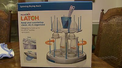 Munchkin Latch Spinning Drying Rack NEW