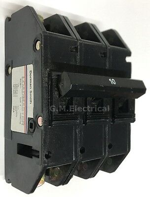 Dorman Smith Loadmaster 10 Amp Type D 10A Triple Pole Type 3 Phase Mcb Series 15