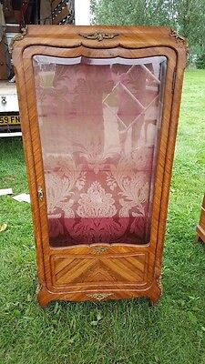 1920's French Ormolu Mounted Display Cabinet