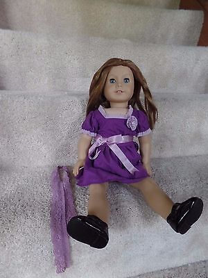 RETIRED American girl doll Emily Molly's friend refurbished 18 inches one mark