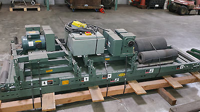 """Belt Conveyor System, 20""""x26' + 24""""x8', Dual Speed Controllers, mint condition"""