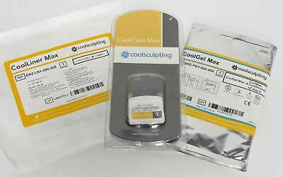 Zeltiq Coolsculpting GOLD - 1 Cycle CoolCard Max w CoolGel Pad and CoolLiner Kit