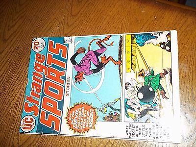 Dc Comics Strange Sports Stories Vintage Comic Book No.1 October