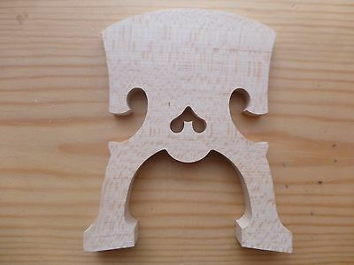 Cello Bridge, Baroque Style, Fine Aged Maple, 4/4, Uk Seller, Fast Despatch!