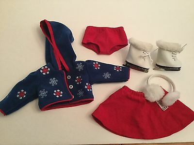 American Girl Doll Molly Ice Skating outfit Winter Mary Ellen retired