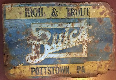 Buick Auto Dealership Arrow Sign, Early Original, Vintage, Pennsylvania, Rare