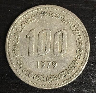 Korea - South  100 Won 1979 KM#9 ( #C90)