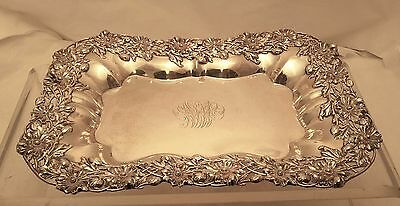 Sterling Asparagus Tray / Centerpiece by Redlich in Floral Design