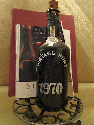 Collectible Wine Bottle 1970 Port