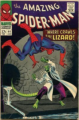 Amazing Spider-Man #44 - VG+ - 2nd Appearance Of The Lizard