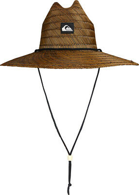 Quiksilver Pierside Wide Brim Hat (Dark Brown)