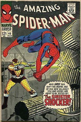 Amazing Spider-Man #46 - FN/VF - 1st Appearance Of The Shocker
