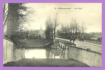 CPA-36- CHATEAUROUX - Pont Neuf