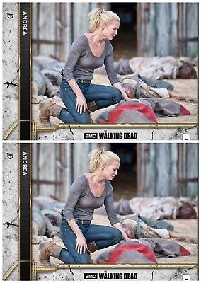 2x COME WHAT MAY CONCRETE ANDREA The Walking Dead Card Trader Digital