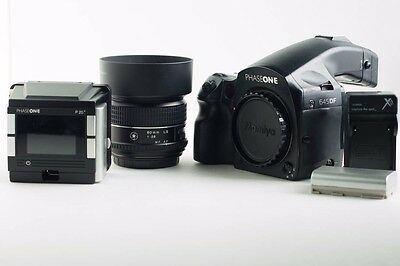 """""""REDUCED"""" Phase One P20+ (3,680 Actuations) 645DF Camera and 80mm 2.8 LS Lens"""