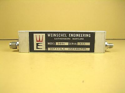 Weinschel  Model 9844  Variable Attenuator