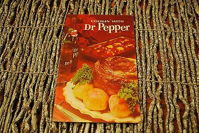 Dr Pepper Cookbook 1965 Cookin' with Dr Pepper Salvaged from Old Dr Pepper Plant