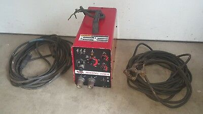 LINCOLN INVERTEC V250-S DC WELDER TIG ARC with 50' LEADS
