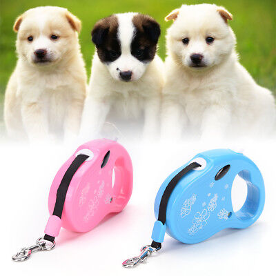 Dog Lead Retractable Dog Leash Pet Traction Rope Chain Harness Collar Walking