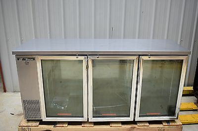 New True Tbb-24-72G-S-Ld Stainless Steel Back Bar Refrigerator