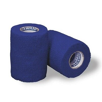"Flex Wrap Non-Sterile Cohesive Bandage 2"" x 5 yds. BLUE Color Part No. 4582BC"