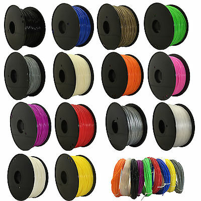 1KG 3D-Printer filament ABS/PLA 1.75mm/3.00mm for makerbot Huxley Leapfrog