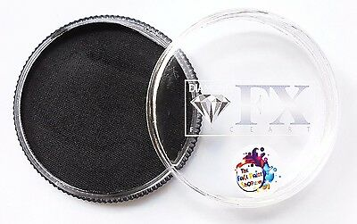 Diamond FX Professional Face and Body Paint Essential Black 32g