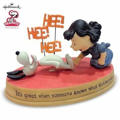 "Hallmark Peanuts Gallery   "" It's Great When someone Knows what tickles you ! """