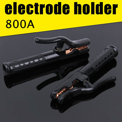 800A Welding Accessories Electrode Rod Holder Capacity Heat Resistant Copper
