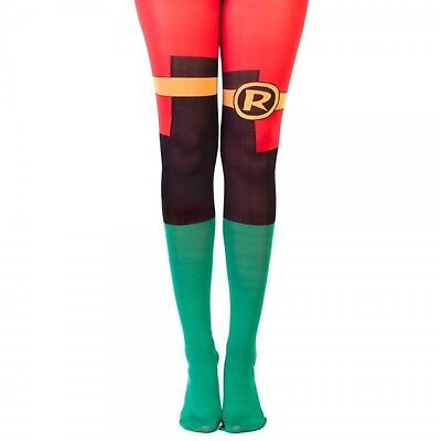 DC Comics Robin Suit Up Tights New BIOWORLD